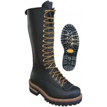 Hoffman Boots Pole Climber Steel Toe 16-in Boots - Black - Mens