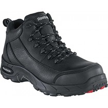 Reebok Waterproof  Safety-Toe Hiker - Black - Mens
