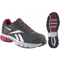 Reebok Performance Cross Trainer Shoes - Grey/Red - Womens