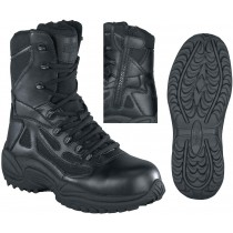 Reebok Stealth SWAT 8-in Safety-Toe Boot - Black - Womens