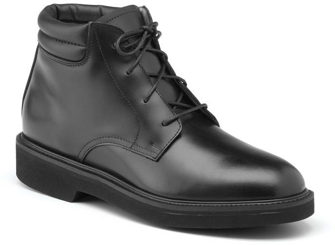 mens black leather chukka boots