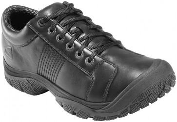 Keen PTC Non Slip Plain Toe Shoe - Black - Mens