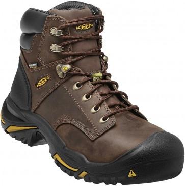 """Keen Mt Vernon 6"""" Steel Toe Boot - Cascade Brown - Mens"""