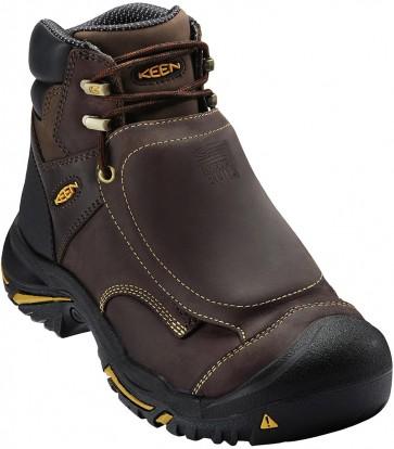 """Keen Mt Vernon 6"""" Steel Toe Met Guard Boot - Brown - Mens"""