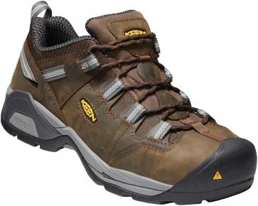 Keen Detroit XT ESD WP Steel Toe Shoe - Cascade Brown  - Mens