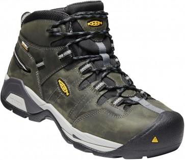 Keen Detroit XT Mid WP Steel Toe Boot - Magnet  - Mens