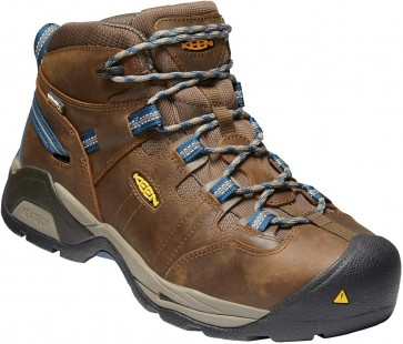 Keen Detroit XT Mid WP Steel Toe Boot - Cascade Brown - Mens