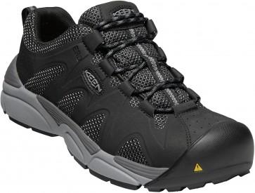 Keen San Antonio ESD Aluminum Shoe - Black/Steel Grey - Mens