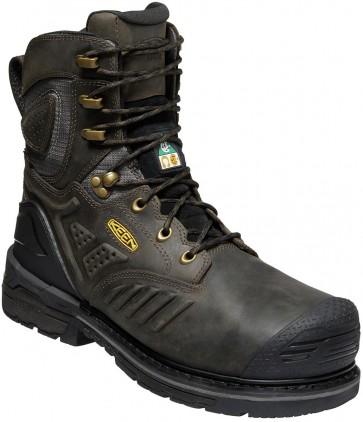 """Keen CSA Philadelphia+ 8"""" Insulated Waterproof Boot - Cascade Brown - Mens"""