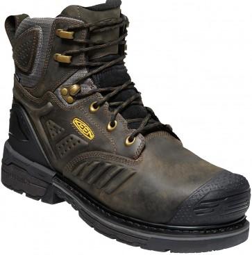 "Keen CSA Philadelphia 6"" Waterproof Boot - Cascade Brown - Mens"