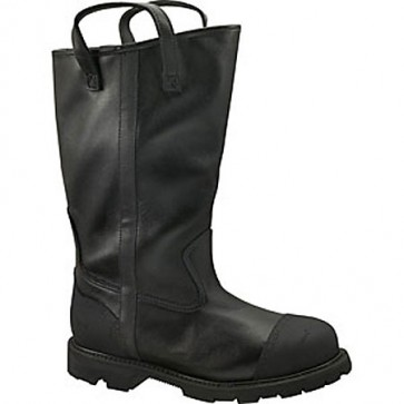 Thorogood 14-in Structural Fire Fighting Bunker Boots - Black - Mens