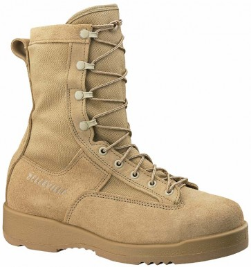 Belleville 330 USN/USMC Flight Approved Steel Toe Boots - Desert - Mens