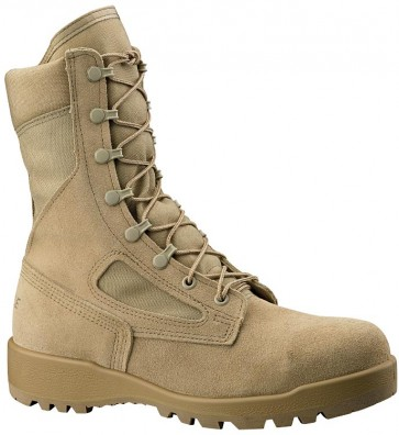 Belleville 390 USA Approved Non-Steel Toe Combat Boots - Desert - Mens