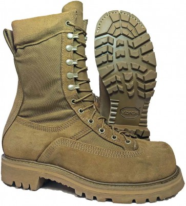 Hoffman Boots 10-in Powerline Boots - Coyote - Mens