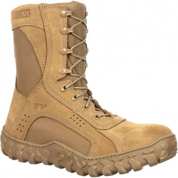 Rocky S2V 8-in Steel Toe Boot - Coyote Brown - Mens
