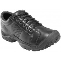 Keen PTC Non Slip Plain Toe Shoe - Black - Mens