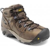 Keen Detroit Mid Steel Toe Work Boots - Slate Black - Mens