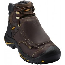 "Keen Mt Vernon 6"" Steel Toe Met Guard Boot - Brown - Mens"
