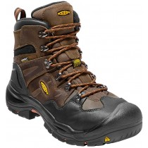 "Keen Coburg Waterproof 6"" Steel Toe Boot - Cascade Brown - Mens"