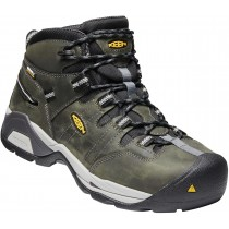 Keen Detroit XT Mid WP Steel Toe Boot - Magnet  - Mens