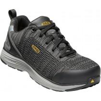 Keen Sparta ESD Aluminum Toe Shoes - Black Grey - Womens