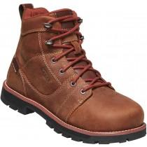 "Keen Seattle 6"" Waterproof Boot Aluminum Toe Boot - Gingerbread - Womens"