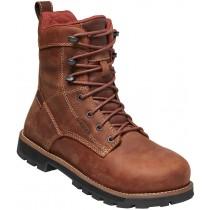 "Keen Seattle 8"" Waterproof Boot Aluminum Toe Boot - Gingerbread - Womens"