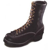 Wesco Jobmaster 10-in Lace-To-Toe Boots - Black - Mens