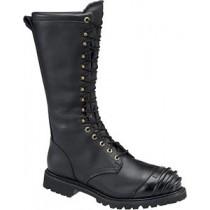 Matterhorn 16-in All Leather Waterproof Prep Plant Boot - Black - Mens
