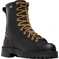 Danner Rain Forest 8-in Uninsulated Boots - Black - Mens