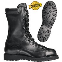 Corcoran 10-in Waterproof Insulated All Leather Field Boots - Black - Mens
