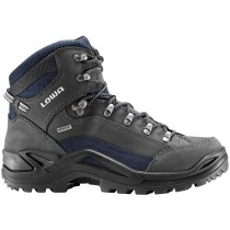 Lowa Renegade GTX Mid Hiking Boots - Dark Grey/Navy - Mens