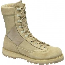 Corcoran 9-in Fleshout Leather/Cordura Non-Insulated Combat Boots - Desert - Womens