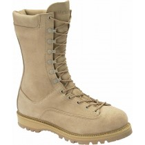Corcoran 10-in Waterproof Fleshout Leather Insulated Field Non-Metallic Safety Toe Boots - Desert Tan - Mens