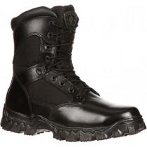 Rocky Alpha Force Zipper Waterproof Composite Toe Public Service Boot - Black - Mens