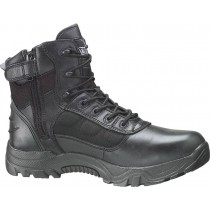 Thorogood 6-in Waterproof Side-Zip Safety Toe Deuce Boots - Black - Mens