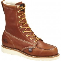 Thorogood 8-in Moc Toe Boots - Brown - Mens