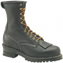 Carolina 1922 9-in Steel Toe Logger Boots - Black - Mens
