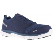 Reebok Sublite Cushion Composite Toe Work Shoe - Navy - Mens