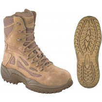 Reebok Stealth SWAT Side Zipper 8-in Safety-Toe Boot - Desert Tan - Womens