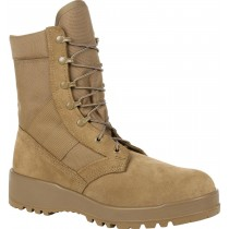 Rocky Hot Weather Steel Toe Boot - Coyote Brown - Mens