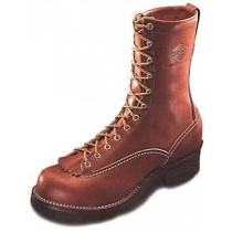 Wesco Jobmaster 10-in Lace-To-Toe Boots - Redwood - Mens
