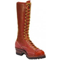 Wesco Highliner 16-in Lace-To-Toe Boots - Redwood - Mens